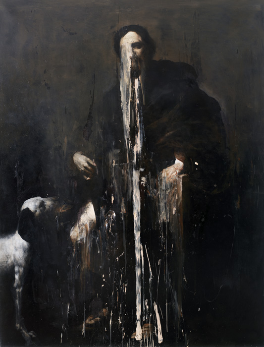 2009, oil on linen, 200 x 150 cm