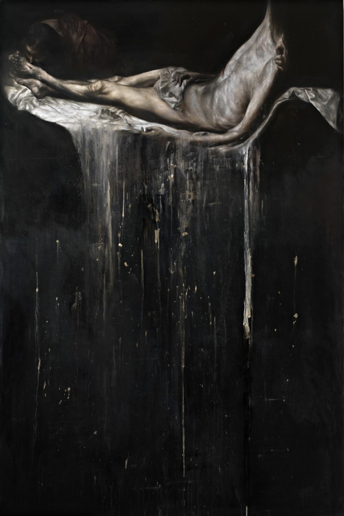 2010, oil on linen, 300 x 200 cm