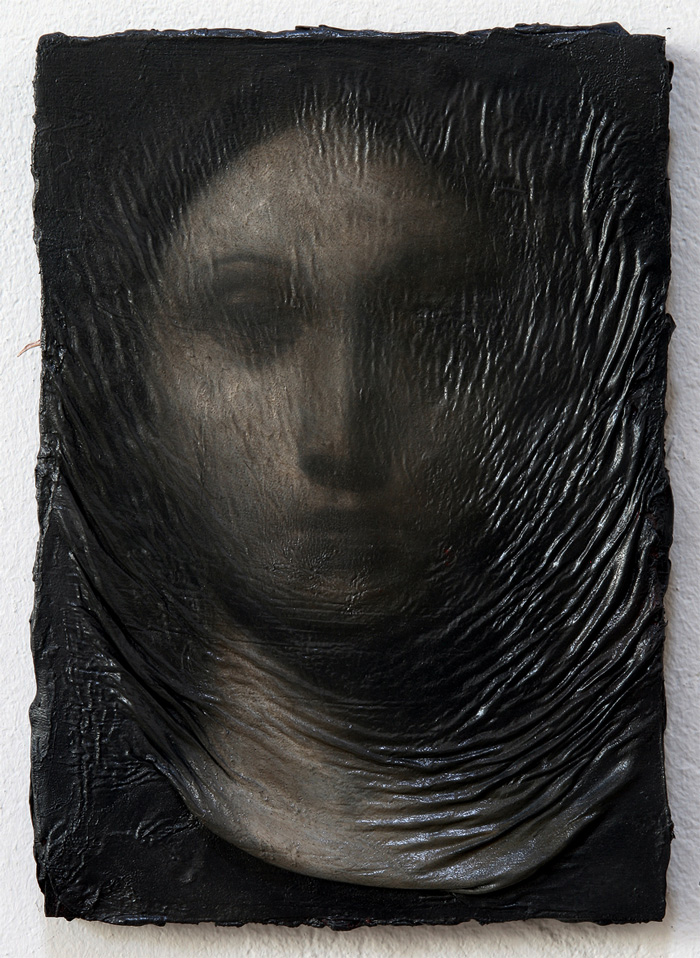 2011, oil on wood, 27 x 19 cm
