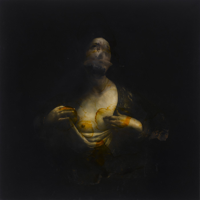 2011, oil on copper, 100 x 100 cm