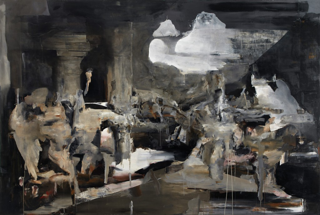 2010, oil on linen, 200 x 300 cm